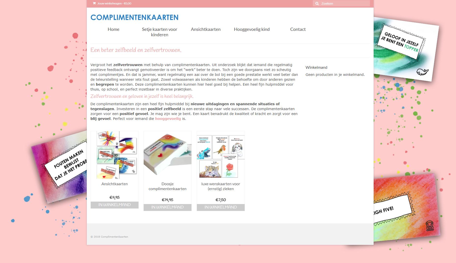 complimentenkaarten.com